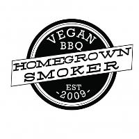 Homegrown Smoker Vegan BBQ Logo