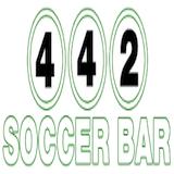4-4-2 Soccer Bar Logo