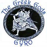 The Greek Gods Gyro Logo