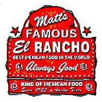 Matt's Famous El Rancho Logo