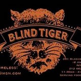 The Blind Tiger Logo