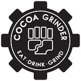 Cocoa Grinder (Nostrand Ave) Logo