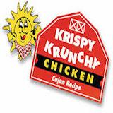 Krispy Krunchy Chicken & Overproof Logo