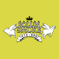 Rollin Smoke Barbeque Logo