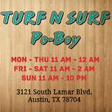 Turf N' Surf Poboys Logo