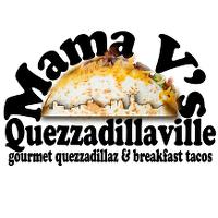 Mama V's Quezzadillaville Logo