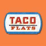 Taco Flats Food Truck Logo