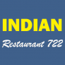 Indian Restaurant 722 Logo