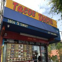 Tacos Delta Logo
