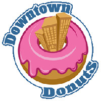 Downtown Donuts Logo