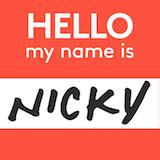 Nicky's Coal Fired Logo