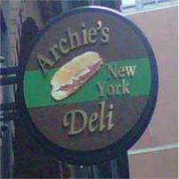 Archie's New York Deli Logo