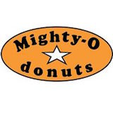 Mighty-O Donuts - Denny Triangle Logo