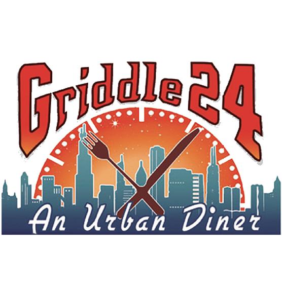 Griddle 24 - An Urban Diner Logo