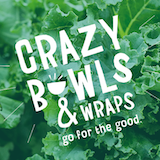 Crazy Bowls & Wraps-Rock Hill Logo