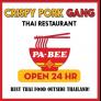 Crispy Pork Gang Restaurant Logo