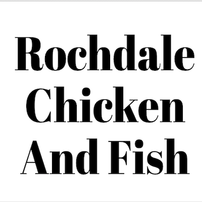 Rochdale Chicken And Fish Logo