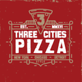 Three Cities Pizza Logo