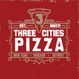 Three Cities Pizza Logo