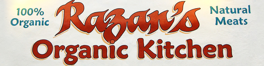 Razan's Organic Kitchen Logo