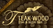 Teak Wood Thai & Sushi Logo