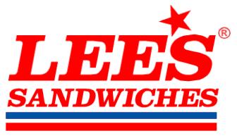 Lee's Sandwiches - Orange Logo