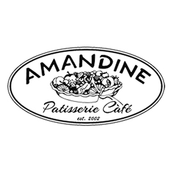 AMANDINE PATISSERIE CAFE (K-Town /  Olympic) Logo