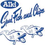 Alki Spuds Logo