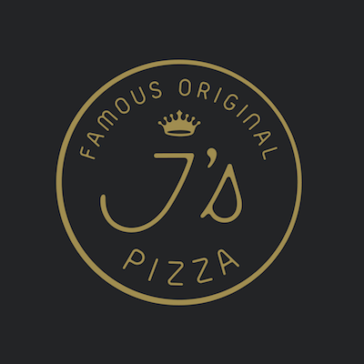 Famous Original J's Pizza Logo
