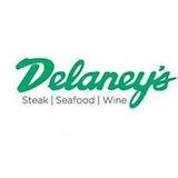 Delaney's Steak Seafood Wine Logo