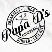 Papa D's kitchen&bar Logo