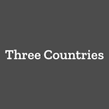 Three Countries Pizza Logo