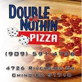 Double or Nothing Pizza (Riverside Dr) Logo