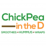Chickpea in the D Logo