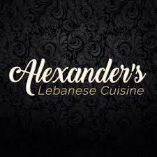 Alexander's Lebanese Cuisine Logo