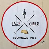 Taco Chelo Logo