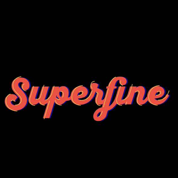 Superfine Pizza Logo