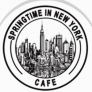 Springtime in New York Cafe Logo