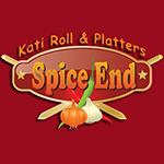 Spice End: Kati Roll and Platters Logo