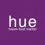 Hue Fusion Food Market Logo