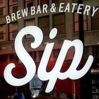 Sip Brew Bar & Eatery Logo