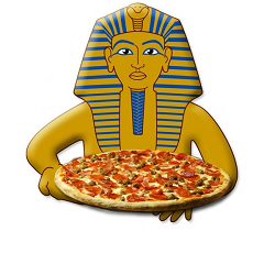 Pharaoh's Pizza Cafe Logo