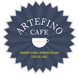 Artefino Art Gallery & Cafe (Superior Ave) Logo