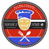 Haha's Pizza HUB Logo