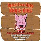 Smoked From Above BBQ & Ribs (Virginia Beach) Logo