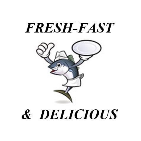 Fresh, Fast & Delicious Logo