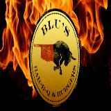 Blu's BBQ & Burgers Logo