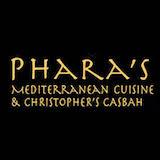 Phara's Mediterranean Cuisine & Christopher's Casbah Logo