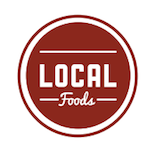 Local Foods - Downtown Logo