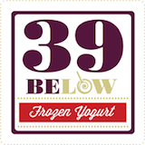 39 Below Frozen Yogurt Logo